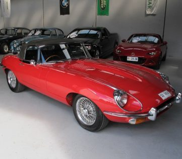 1970 E Type Jaguar - Goldstar Automotive Sales Division